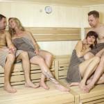 Finnische Sauna 90 Grad