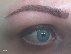 Augenbraue nachher