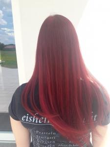 Trendfarbe im Haar