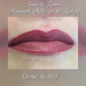 Sinnliche Lippen - Parmanent Make-up mit Liplight