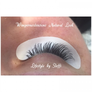 Wimpernextensions Natural Look