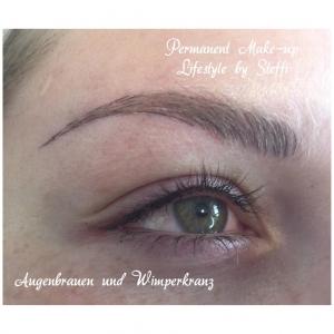 Permanent Makeup - Augenbrauen und Wimpernkranz