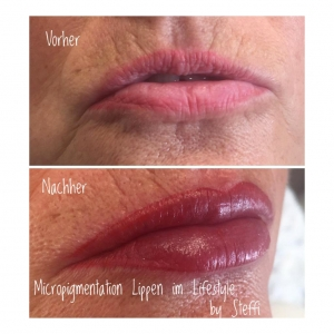 Micropigmentation Lippen im Lifestyle by Steffi