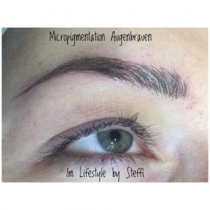 Micropigmentation der Augenbrauen im Lifestyle by Steffi
