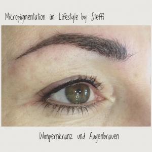 Micropigmentation - Wimpernkranz und Augenbrauen