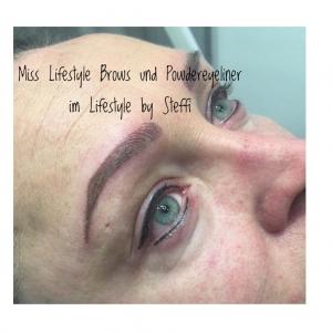 Miss Lifestyle Brows und Powdereyeliner im Lifestyle by Steffi