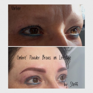 Ombre' Powder Brows im Lifestyle by Steffi