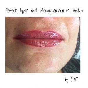 Perfekte Lippen durch Micropigmentation im Lifestyle