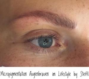 Micropigmentation Augenbrauen im Lifestyle by Steffi