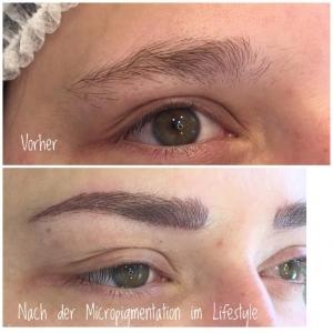 Nach der Micropigmentation im Lifestyle