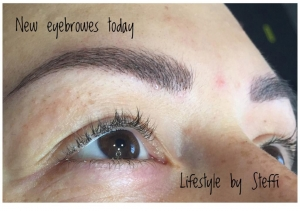 Neue Augenbrauen durch Micropigmentation im Lifestyle by Steffi