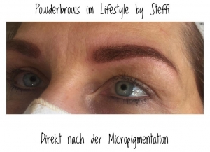 Powderbrows durch Micropigmentation im Lifestyle by Steffi