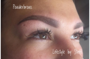 Powderbrows mit Micropigmentation im Lifestyle by Steffi
