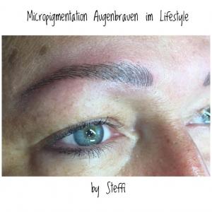 Micropigmentation Augenbrauen im Lifestyle